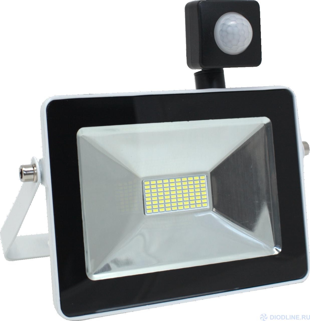 Уличные светодиодные прожекторы с датчиком движения | LED Central.ru