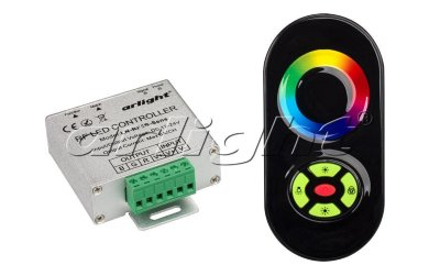 Контроллер Arlight LN-RF5B-Sens Black (12-24V,180-360W)