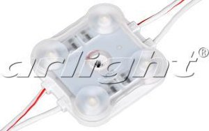 Модуль герметичный ARL-BEST2835-4-2W-12V WHITE 160DEG Arlight